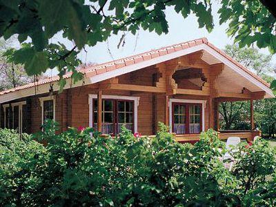 Фотография дома из дерева 72,9 м2. 1 этаж. Артикул: ВТ-ПД-2008/1.