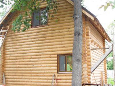 Фотография дома из дерева 56,18 м2. 2 этажа. Артикул: ВТ-ПД-2008/2.