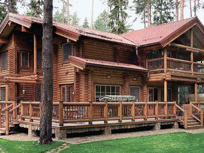 Фотография дома из дерева 546,1 м2. 2 этажа. Артикул: ВТ-ПД-2008/29.