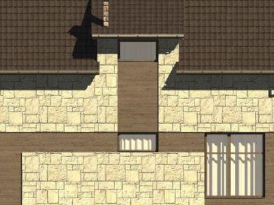 Фотография дома из пенобетона 102,17 м2. 2 этажа. Артикул: ДП-3.